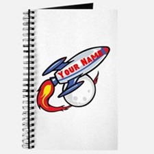 Personalized rocket Journal