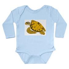 Save Turtles! Long Sleeve Infant Bodysuit