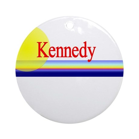 Kennedy Ornament (Round)