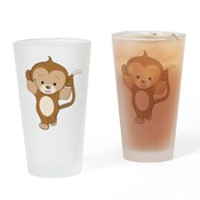 Monkey Pint Glass