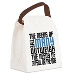 Needs of the Many Canvas Lunch Bag