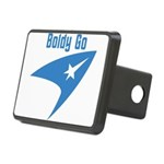 Boldly Go Rectangular Hitch Cover