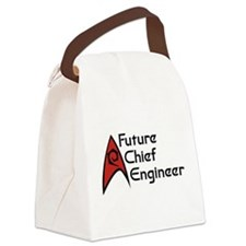 Future Chief Engineer Canvas Lunch Bag