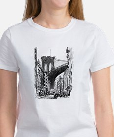 Pennell Joseph Brooklyn Bridge Women's T-Shirt