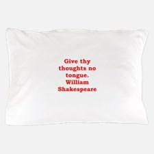 william shakespeare Pillow Case