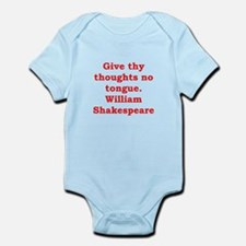william shakespeare Infant Bodysuit