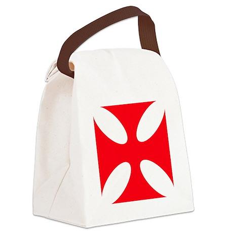 templar cross Canvas Lunch Bag