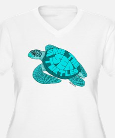 Teal Turtle T-Shirt