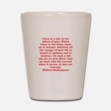william shakespeare Shot Glass