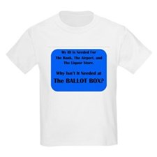 Voter ID Required T-Shirt