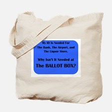 Voter ID Required Tote Bag