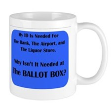 Voter ID Required Mug