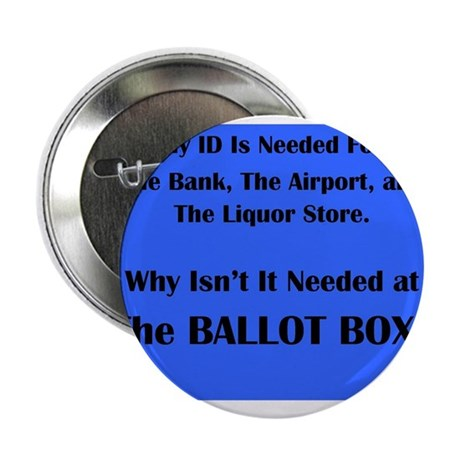 "Voter ID Required 2.25"" Button"
