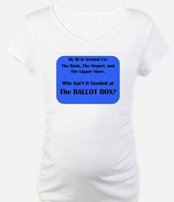 Voter ID Required Shirt