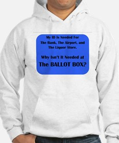 Voter ID Required Hoodie