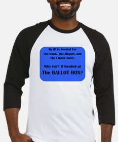 Voter ID Required Baseball Jersey