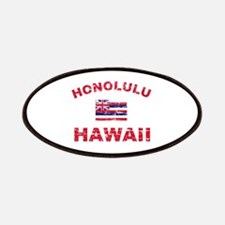Honolulu Hawaii Designs Patches
