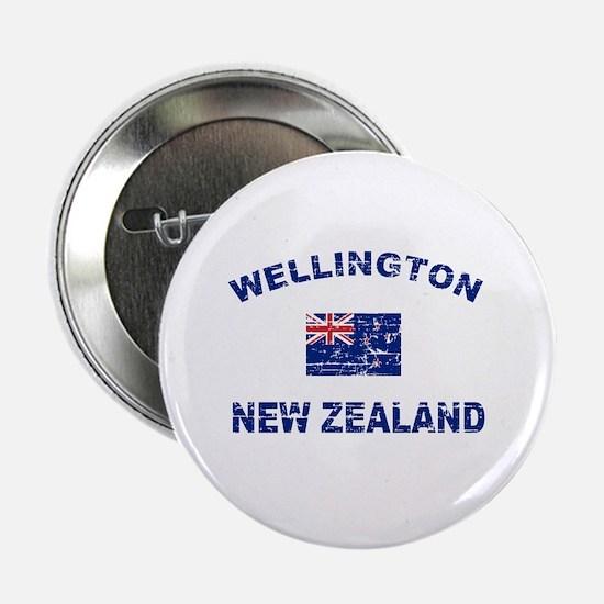 "Wellington New Zealand Designs 2.25"" Button"