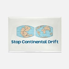 Stop Continental Drift Rectangle Magnet