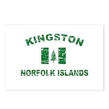 Kingston Norfolk Islands Designs Postcards (Packag