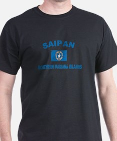 Saipan Northern Mariana Islands Designs T-Shirt