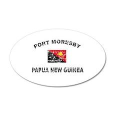 Port Moresby Papua New Guinea Design Wall Decal