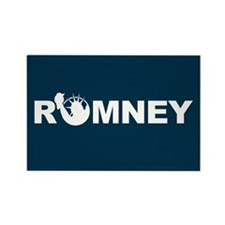Romney for Liberty Rectangle Magnet