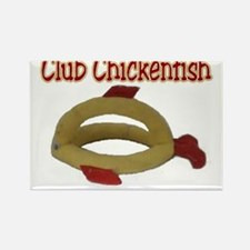 Club Chickenfish and Weblink Rectangle Magnet