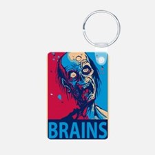 Obama Zombie Brains Keychains