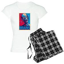 Obama Zombie Brains Pajamas