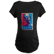 Obama Zombie Brains T-Shirt