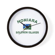Honiara Solomon Islands Designs Wall Clock