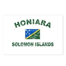 Honiara Solomon Islands Designs Postcards (Package