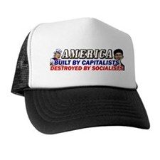 Destroyed By Socialists! Trucker Hat