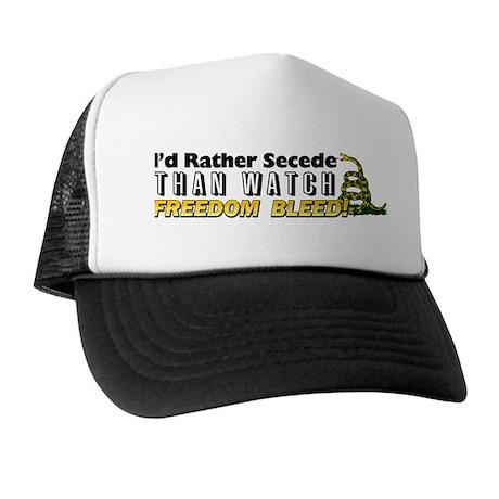 quot i d rather secede quot hat by titillatingtees