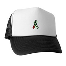 Palestinian Ribbon for Justice & Peace Trucker Hat