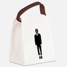 Creepy Guy Canvas Lunch Bag
