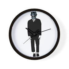 Creepy Guy Wall Clock