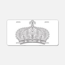 Crown Aluminum License Plate