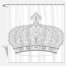 Crown Shower Curtain