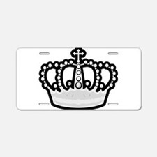 Crown Aluminum License Plate