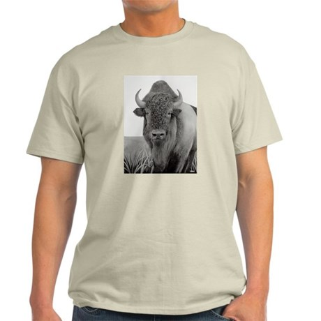 Mr. Buffalo Ash Grey T-Shirt