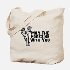 Forks Be With You Tote Bag