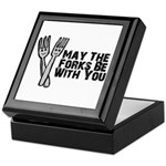 Forks Be With You Keepsake Box