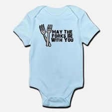 Forks Be With You Infant Bodysuit