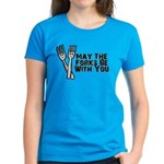 Forks Be With You Women's Dark T-Shirt