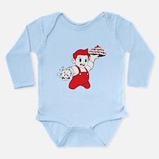 Donut Time Long Sleeve Infant Bodysuit