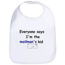 MAILMAN'S KID FUNNY Bib (GIFT)!