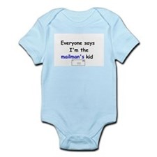 MAILMAN'S KID FUNNY Infant Onesie Creeper Bodysuit