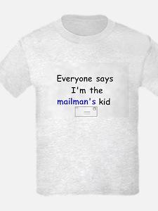 MAILMAN'S KID FUNNY Kids T-Shirt
